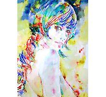 GIRL with BRAID Photographic Print