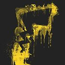 Pikachu Tail - Silhouette Splatter Series by TheWinterCold