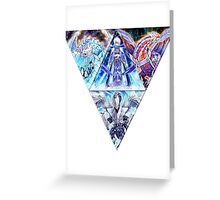 Ice Barrier Dragon Shirt Greeting Card