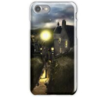 "The ""Hie Gait"" : Dysart, Fife in Scotland [Digital Architecture Illustration] iPhone Case/Skin"