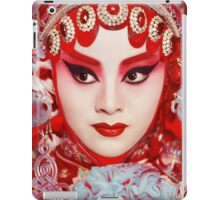 Peking Opera by Gavin Evans iPad Case/Skin