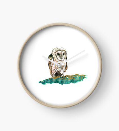 Sleeping Owl Clock