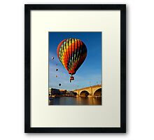 Colorful Balloon Framed Print
