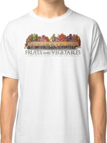 A World of Fruits & Vegetables Classic T-Shirt