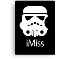iMiss Canvas Print