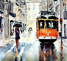 tram by Steven  Ponsford