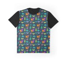 Magical Forrest Creatures Graphic T-Shirt