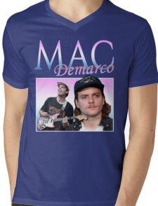 Mac Demarco Retro Mens V-Neck T-Shirt