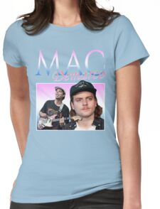 Mac Demarco Retro Womens Fitted T-Shirt