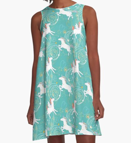 Unicorns A-Line Dress