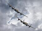The 2 Lancasters Dunsfold by Colin  Williams Photography