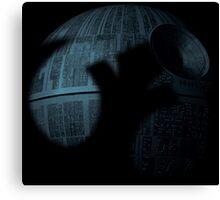 Death Star with Rebel Shadow Canvas Print