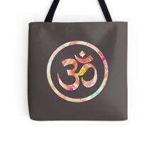 Om Aum Ohm Namaste Yoga Spiritual Hinduism Symbol Tote Bag