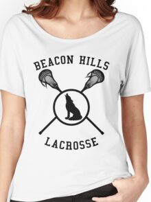 lacrosse wolf Women's Relaxed Fit T-Shirt