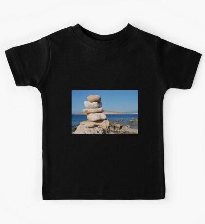 Ftenagia stones, Halki island Kids Tee
