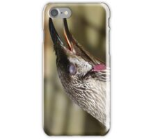 Blink ... the third eyelid. iPhone Case/Skin