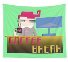 Coffee_break Wall Tapestry