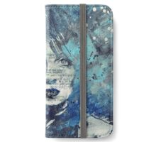 Farewell, Mona Lisa: Winter iPhone Wallet/Case/Skin