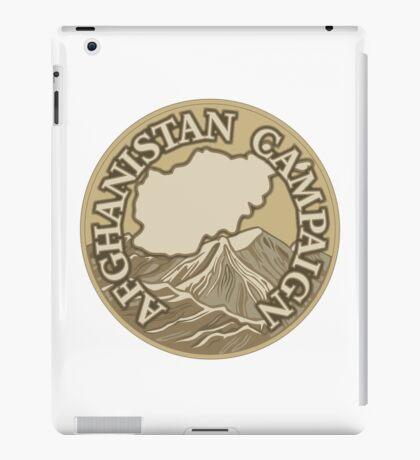 Afghanistan Campaign iPad Case/Skin