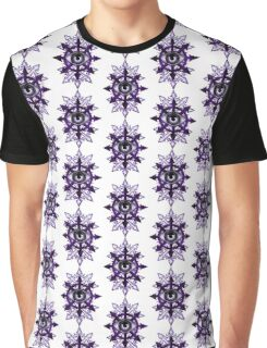 EVIL EYE WITH CHAOS STAR - violets Graphic T-Shirt