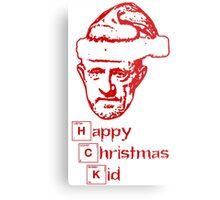 Happy Christmas Mike Metal Print