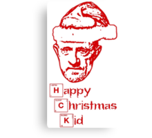 Happy Christmas Mike Canvas Print