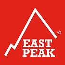 East Peak Apparel - Red Square Large Logo by springwoodbooks