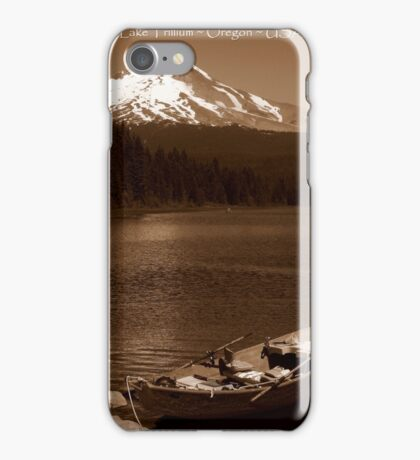 Postcards From Oregon ~ Part One iPhone Case/Skin