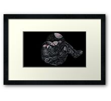Lament of A Space Man Framed Print