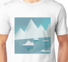 Frozen winter landscape Unisex T-Shirt