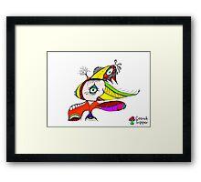 One Eyed Framed Print