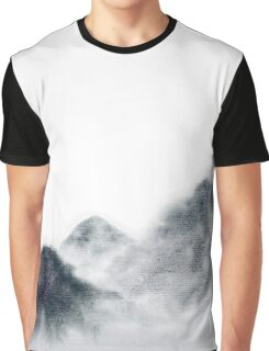 Watercolor hills Graphic T-Shirt