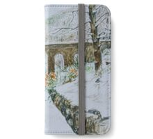 Seven arches bridge at Rivington Pike iPhone Wallet/Case/Skin