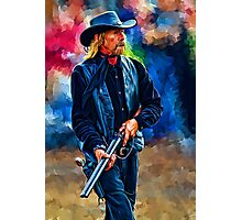 Shotgun Cowboy Photographic Print