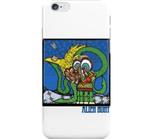 Alien Hunt iPhone Case/Skin