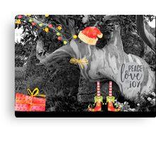 Peace, Love & Joy in Nature Canvas Print