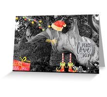 Peace, Love & Joy in Nature Greeting Card