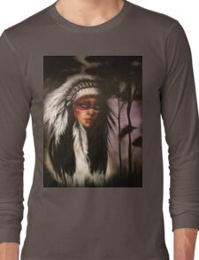 Indian Long Sleeve T-Shirt