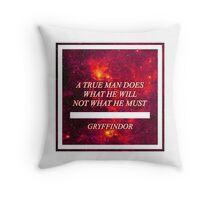 Gryfindor Themed Pillow Throw Pillow