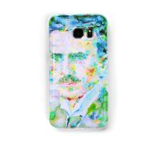NIKOLA TESLA watercolor portrait Samsung Galaxy Case/Skin