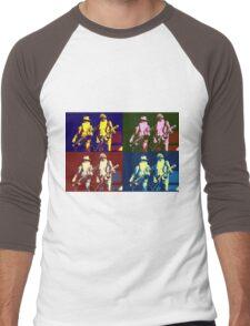 ZZ Top Pop Art Men's Baseball ¾ T-Shirt