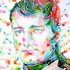 NAPOLEON BONAPARTE - watercolor portrait by lautir