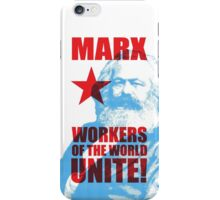Karl Marx - Workers of the World Unite! iPhone Case/Skin