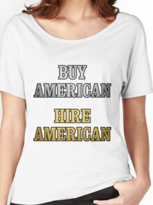 BUY HIRE AMERICAN Women's Relaxed Fit T-Shirt