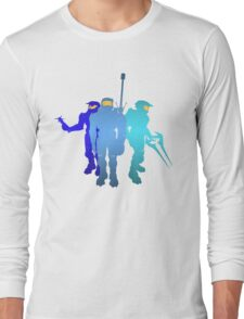 Blue Team Long Sleeve T-Shirt