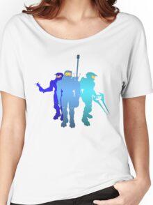 Blue Team Women's Relaxed Fit T-Shirt