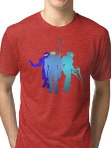 Blue Team Tri-blend T-Shirt