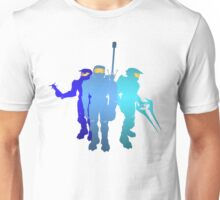 Blue Team Unisex T-Shirt