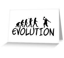 Basket Evolution Funny Greeting Card