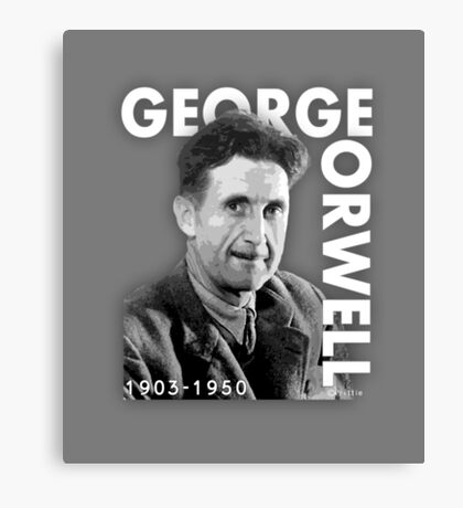 George Orwell Novelist and journalist Canvas Print